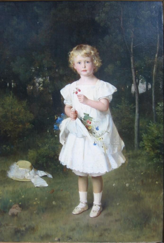 """Elsie Suermondt - 1864 """"Am Steg"""""""