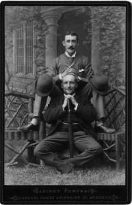 Ernst Becker + Charly Wedemeyer - 1891 Shanghai