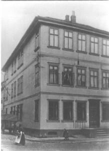 Wohnhaus Gudesstraße in Uelzen - vor dem Kriege