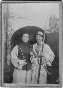 Ernst und Hans Becker 1891 Singapore