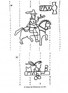 Wasserzeichen Mühlhausen 1670 - Moritz Becker