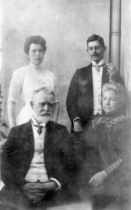 Engelbert,Margarita,Aline,Franz jr. Secker