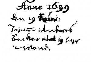 Kl.Lengden - Beerdigungen -1699