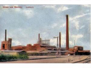 Montwy, Sodafabrik 1914
