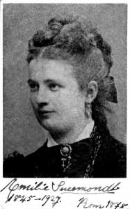 Emilie, geb. Riema