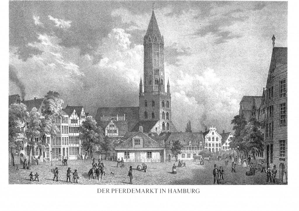 Hamburg - Pferdemarkt