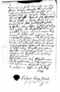 Schuldschein über 100 Reichsthaler - 1789