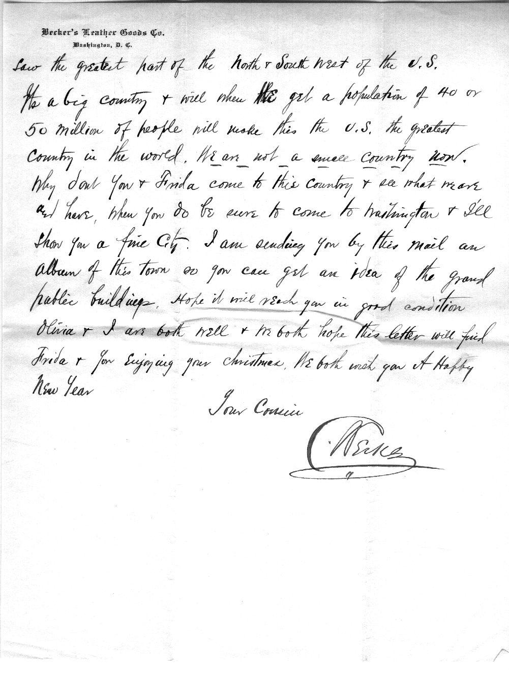 64.11.1. Brief 1 vom 15.12.1910 R