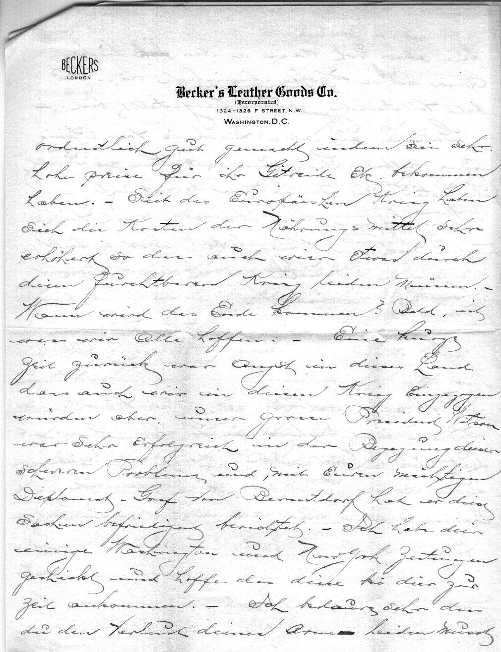 64.11.1. Brief 2/3  vom 06.11.1915
