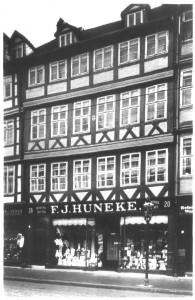 Wohn- und Geschäftshaus von Georg Wilhelm Becker - Hannover, Calenberger Str.22