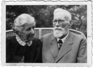 Frida und Rolf Becker  - 1945