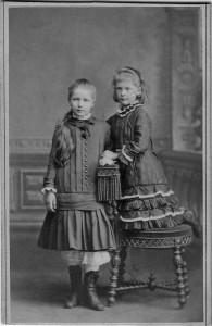 Frida Becker und Lilly Becker, verh.Schaumann