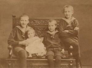 Jürgen-Echter,Gerda-Therese,Gernot,Fritz Becker