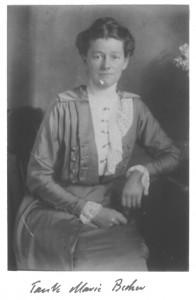 Marie Becker, geb. Schindler