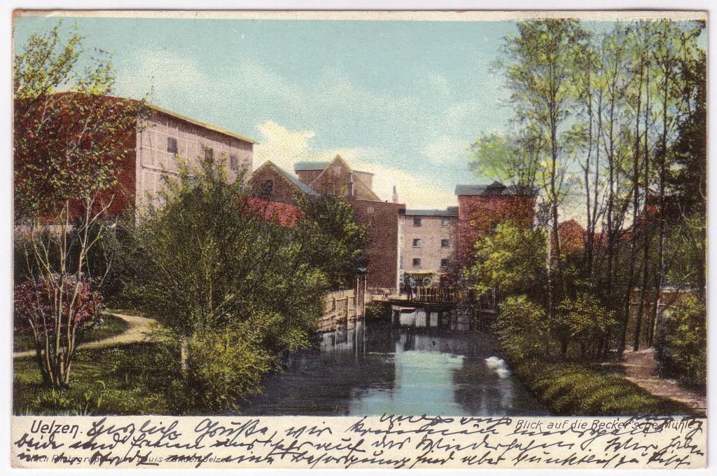 Die Beckersche Mühle Uelzen1904