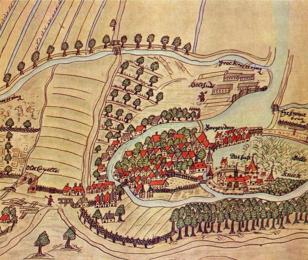 Bergedorf um 1590