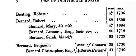 Bernard-Beerdigungen Yarmouth