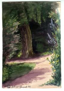 die große Birke - 1904