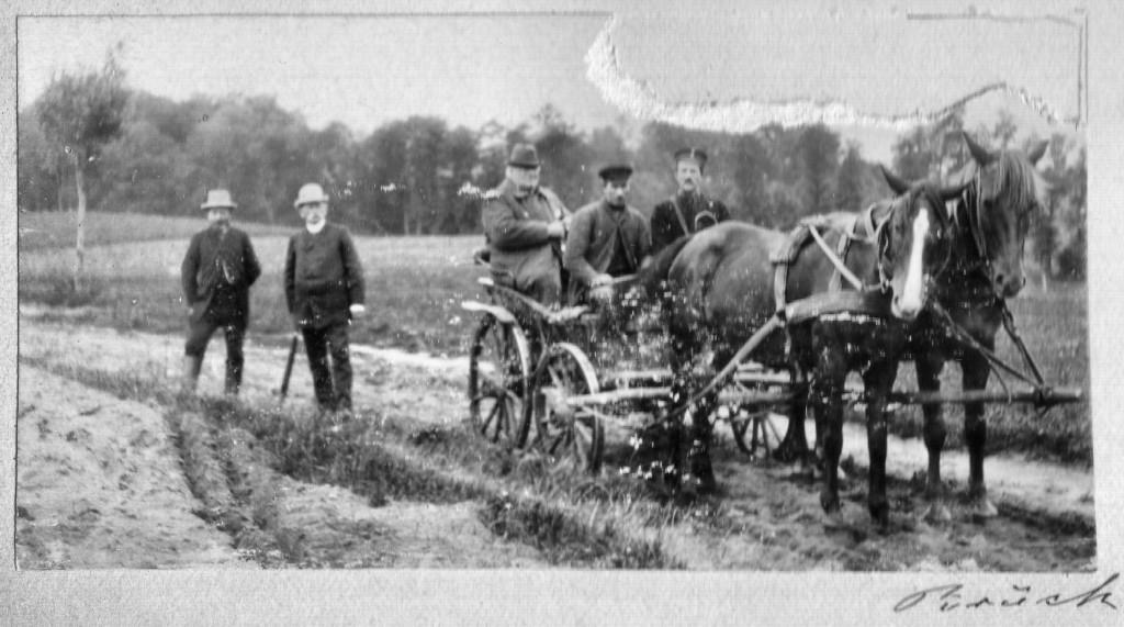 auf Gut Brück - 1893