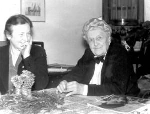 Lili Claassen und Inge Becker