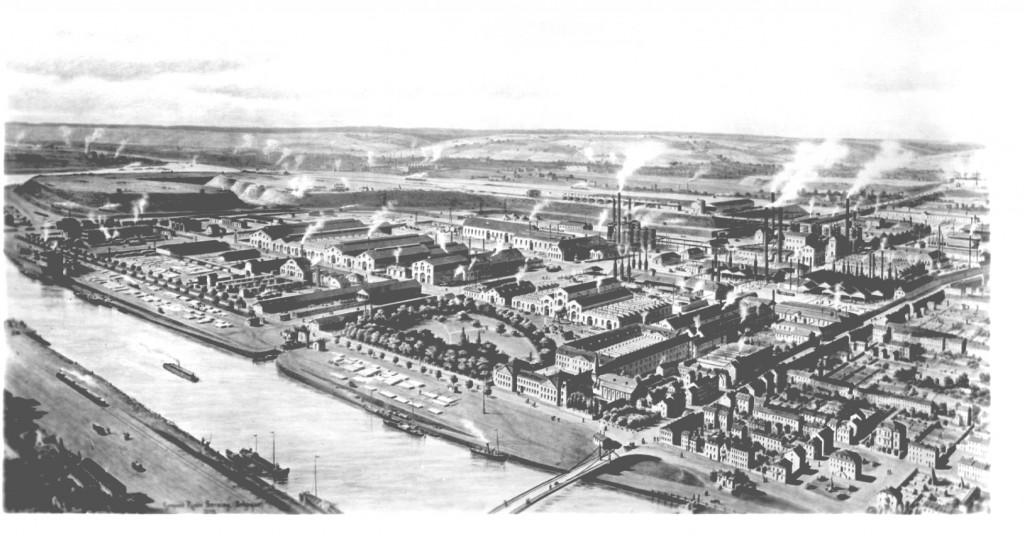 Seraing um 1900