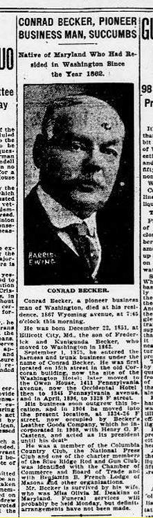 Conrad Becker - Todesanzeige-1922-