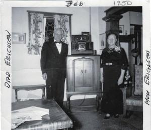 Henry + Anna Erichsen -1950