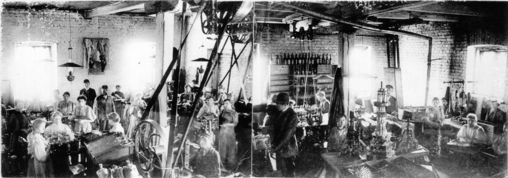 Fabrik in Warschau Polna von Max Claassen