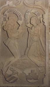 Grabplatte Brandis - v.Alten