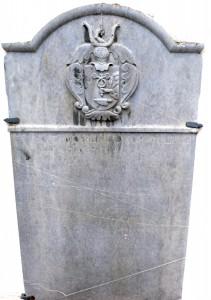 Grabstein der Anna Maria Günther 1730