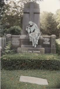 Grabstein Lochner in Aachen
