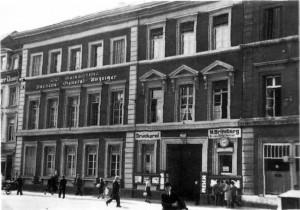 Haus Adalbertstr. um 1900