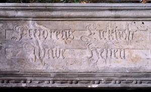 Hausinschrift Eickhoff - Hessen