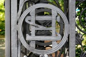 Tor zur  Hoppegarten-Villa - OS