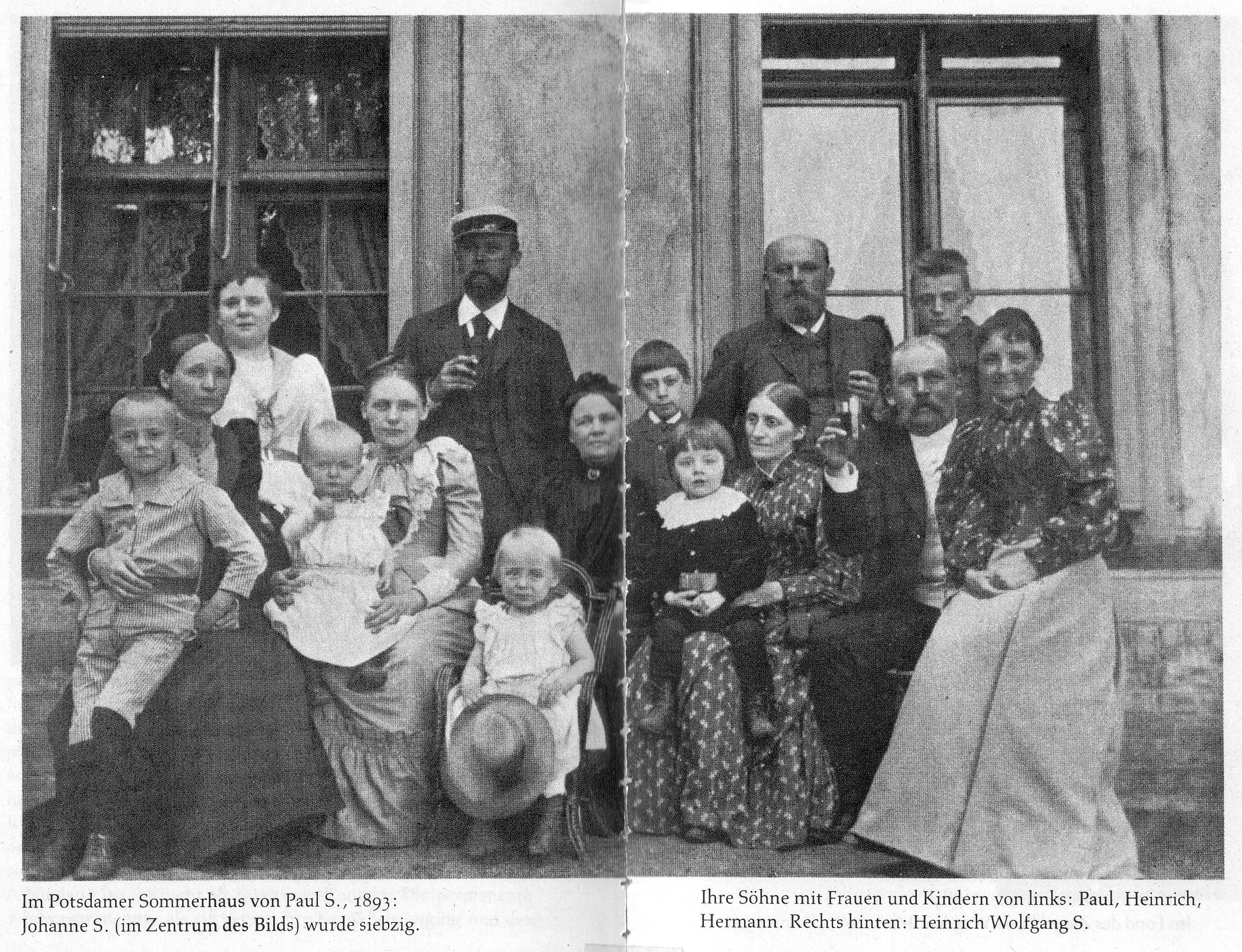 Johanne Seidel und Kinder