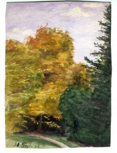 Die große Kastanie - 1904