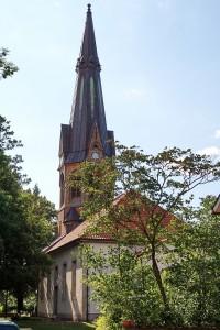 Kirche der ev.luth. Kirchengemeinde Frielingen-Horst-Meyenhof in Horst (Garbsen)