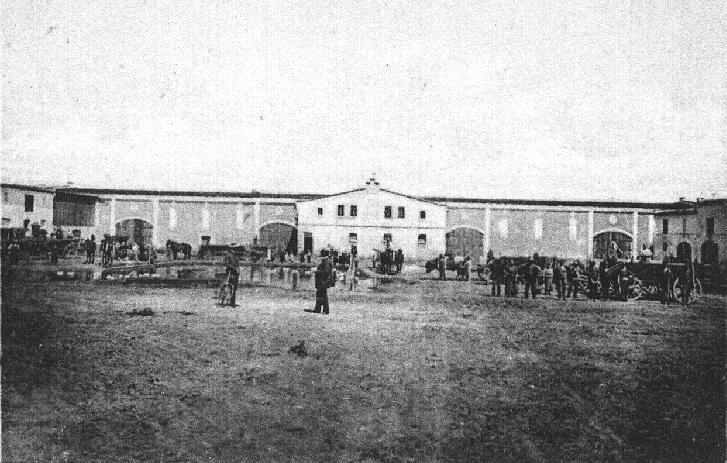 Kl-Zindel-Hof um 1912