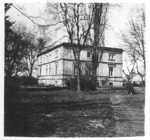 Kl. Zindel - Gutshaus 1927