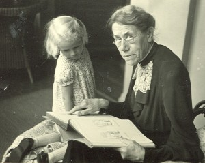 Elsie Suermondt + Marly 1918