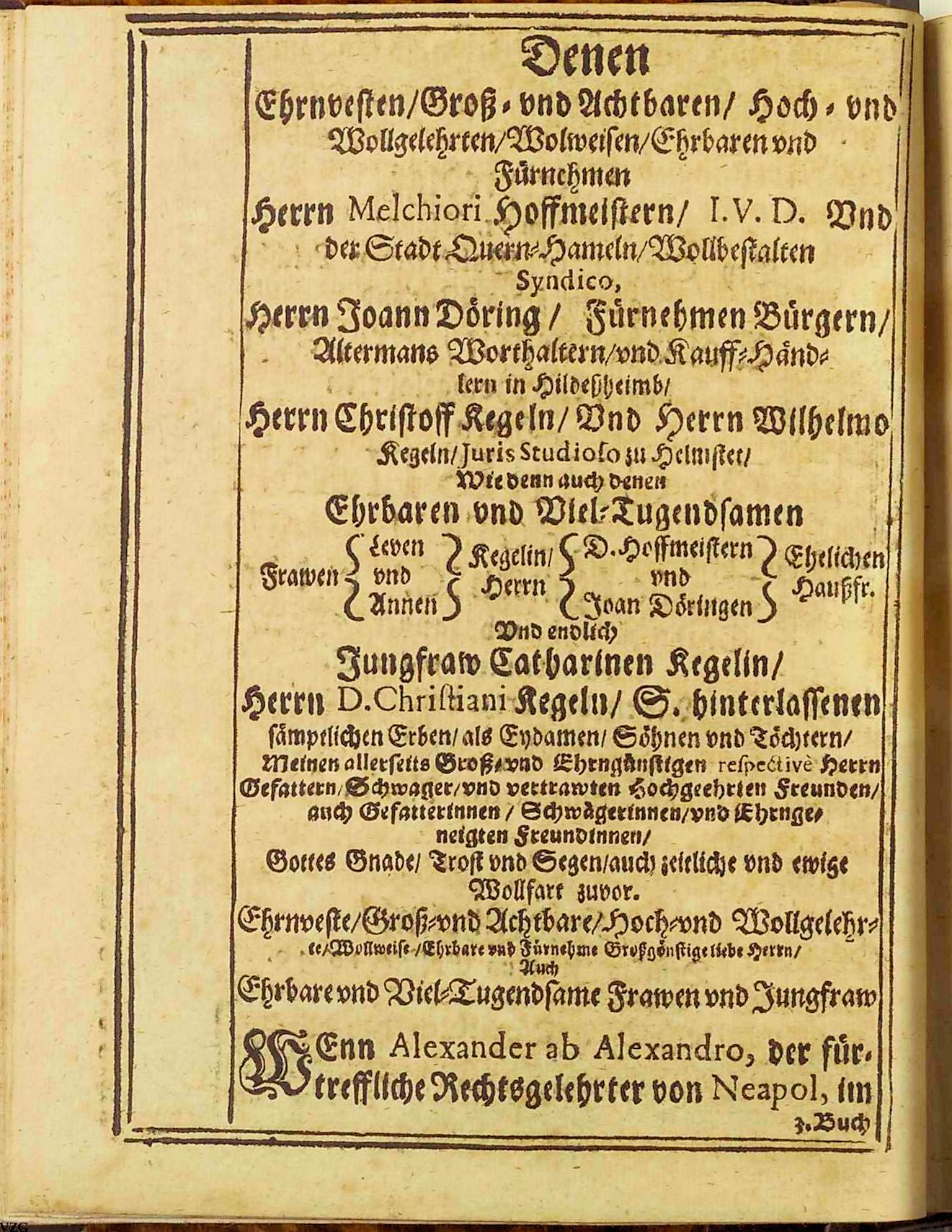 Leichenpredigt-S.2- Chr. Kegel
