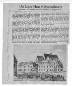 Lottohaus- Wohn- und Geschäftshaus Angot-Braunschweig