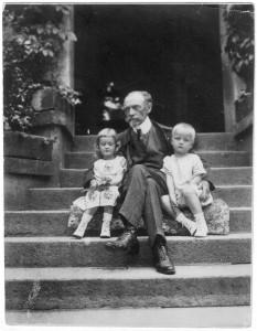 Max, Inge + Jochen -Zindel 1917