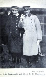 Otto Suermondt u. Lt. Hasperg