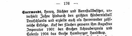 Rennsport+Wette Henry Suermondt