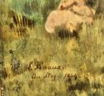 Signatur L. Knaus 1864