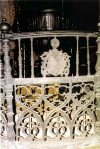 Taufe St.Marien mit Wappen Chüden