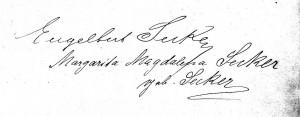 Unterschrift 1912