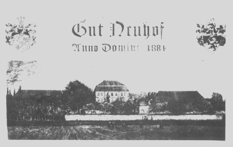 Gut Neuhof 1884