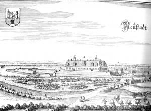 Neustadt - Merian um 1650